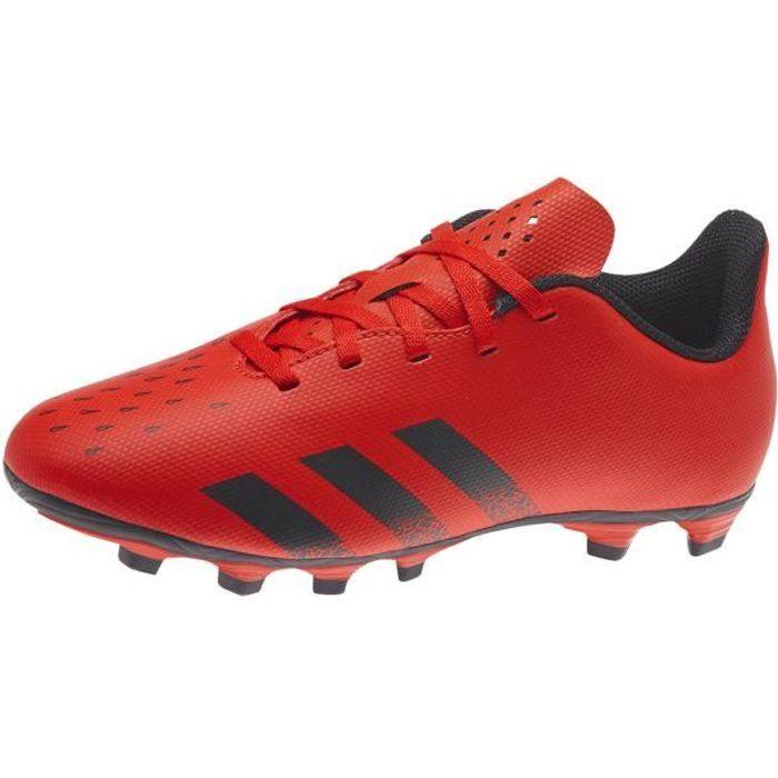 Chaussures Adidas Predator Freak.4 Fxg rouge / noir enfant
