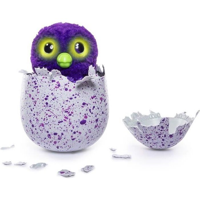 HATCHIMALS - Hatchimal Draggles Violet (oeuf surprise)