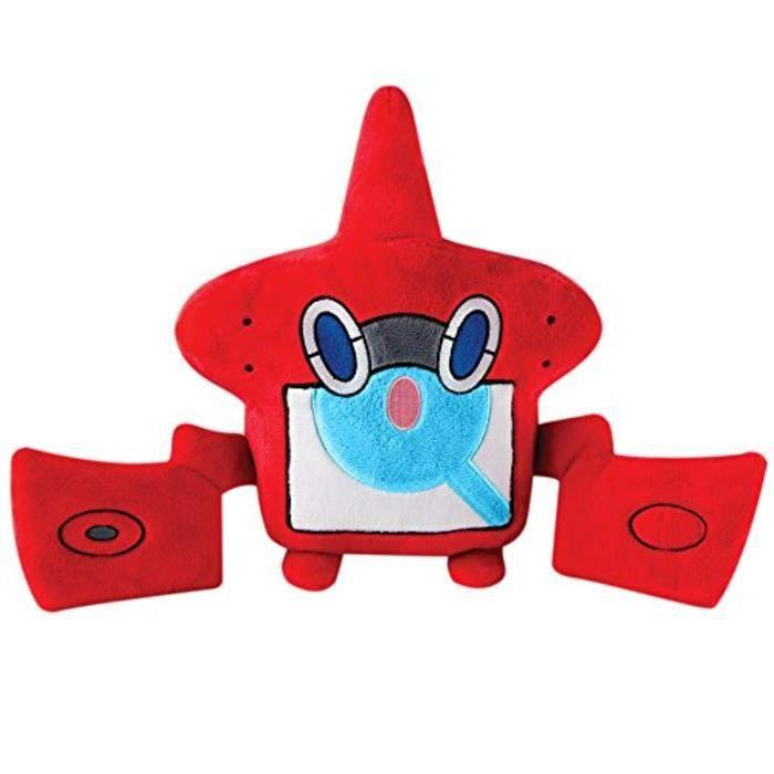 Peluche TOMY CWRFK Pokemon - Grande peluche Rotom Pokedex - jouets