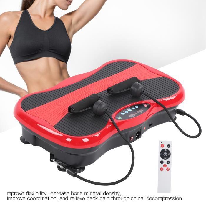 Plateforme Vibrante Oscillante Fitness pour Musculation et Perte de Poids Brûleur de Graisses BOH99