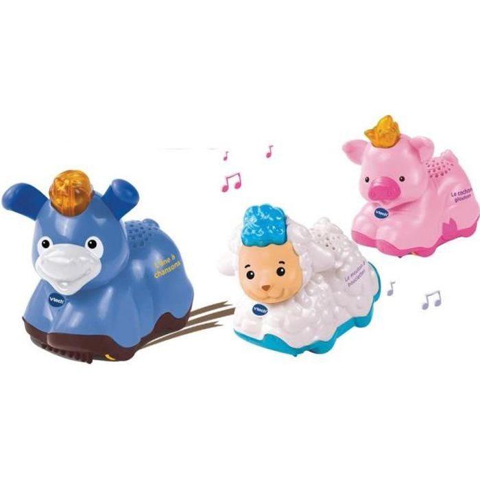 VTECH - TUT TUT ANIMO - Coffret trio Ferme