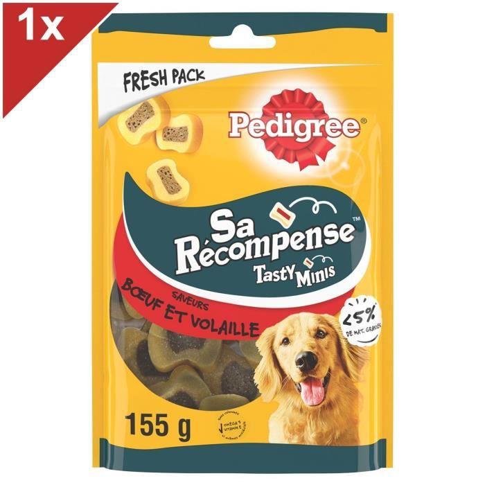PEDIGREE - Récompenses friandises au boeuf - Pour les chiens - 155g