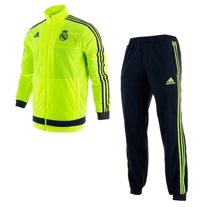 adidas surv tement training football real madrid presentation homme ftl prix pas cher cdiscount. Black Bedroom Furniture Sets. Home Design Ideas