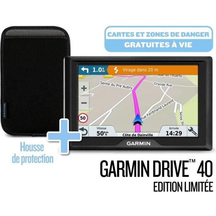 GPS AUTO GARMIN Pack GPS Drive™ 40 Cartes à vie (LM) Editio