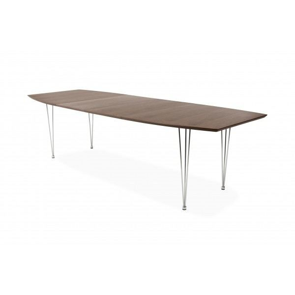 Table extensible design musset noyer achat vente - Table a manger extensible design ...