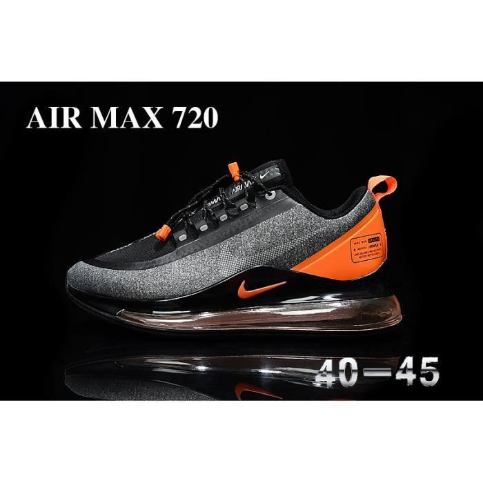 air max grise et orange