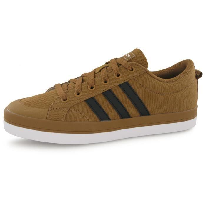 Baskets Adidas Bravada camel homme Marron - Cdiscount Chaussures