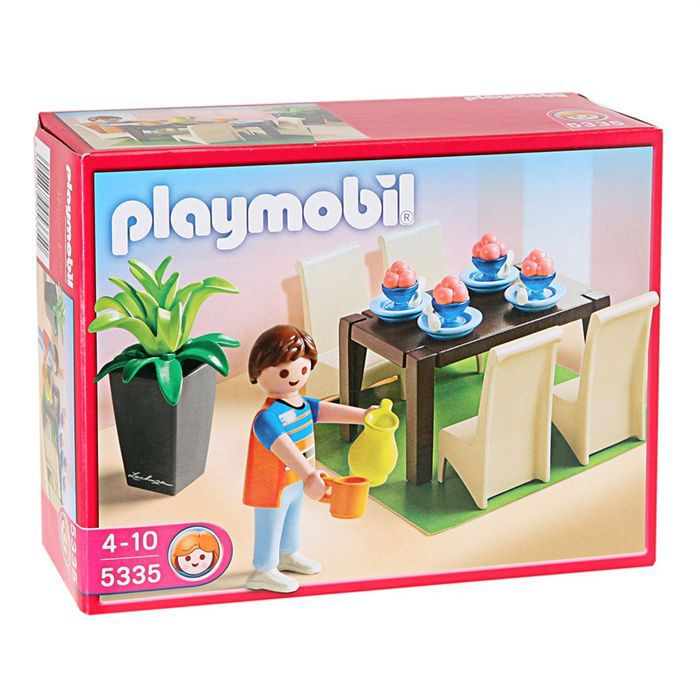 Playmobil 5355 salle manger achat vente univers for Salle a manger playmobil city life