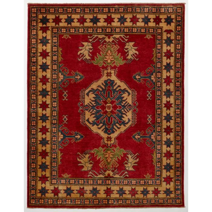 tapis d 39 orient nou main kazak 112 rouge 130x1 achat vente tapis cdiscount. Black Bedroom Furniture Sets. Home Design Ideas