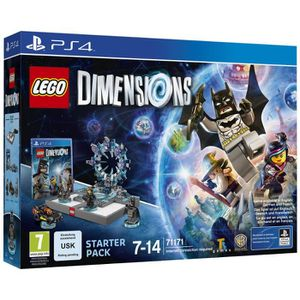 JEU PS4 LEGO Dimensions Starter Pack - Jeu PS4