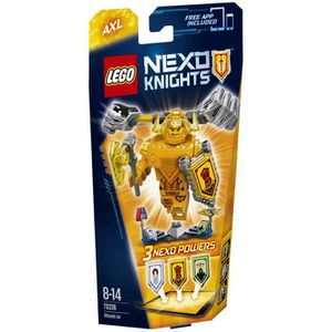 LEGO Nexo Knights 70336 Axl l`Ultime Chevalier