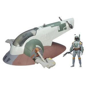 FIGURINE - PERSONNAGE Slave I With Boba Fett 2CXEVT