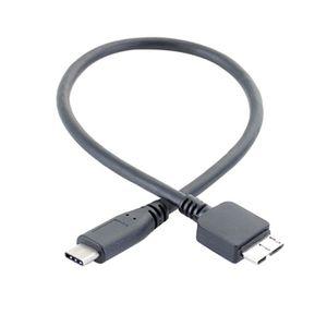 DISQUE DUR EXTERNE Cable de données de disque dur de type C à USB 3.0