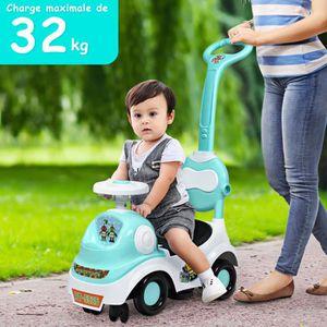 PORTEUR - POUSSEUR Trotteur pour Enfants 3 en 1 Peut Transformer à Vo