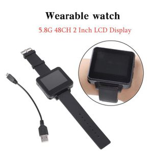 DRONE 5.8G 48CH FPV Watch LCD Display Monitor Récepteur