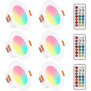 SPOTS - LIGNE DE SPOTS Spots LED Encastré 5W (équivalent 40W) Couleur RGB
