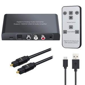 REPARTITEUR TV Convertisseur Audio numérique vers coaxial analogi