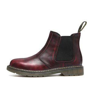 BOTTINE Chelsea Boots Mode Femme élégant Cuir Bottine - Ro