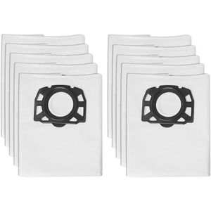 ACCESSOIRE MACHINE  10-pack Karcher Fleece Filter Bags Replacement fo
