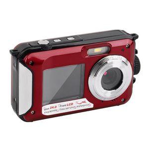 PACK APPAREIL COMPACT Appareil photo numérique étanche Caméra Double Scr
