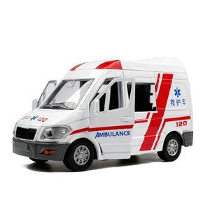 VOITURE - CAMION Ambulance Alliage métallique VEHICULE MINIATURE Ca