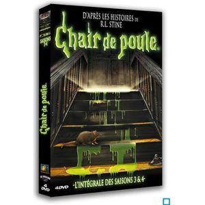 DVD FILM Chair de poule - Saison 3 & 4 - Coffret 4 DVD