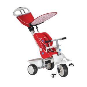 DRAISIENNE smarTrike Recliner, bébé tricycle 4-en-1 évolutif