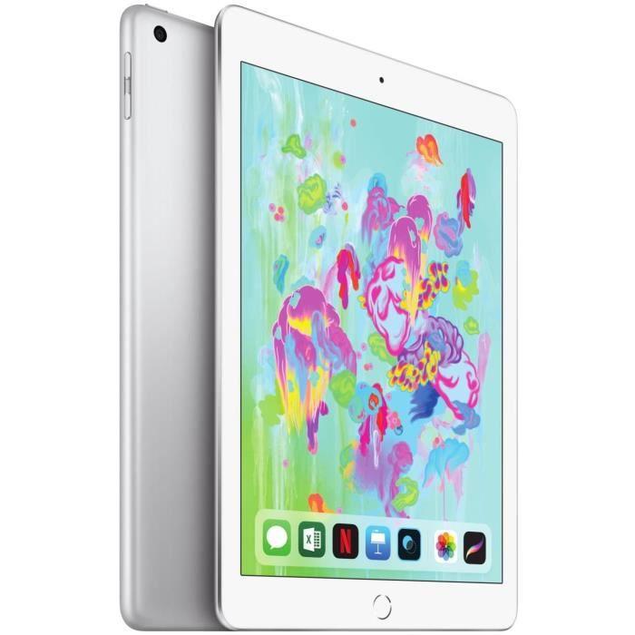 "TABLETTE TACTILE iPad 9,7"" Retina 128Go  WiFi + Cellular - Argent -"