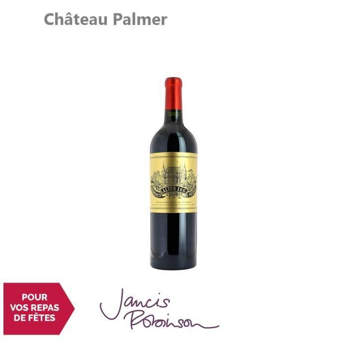 Château Palmer Alter Ego de Palmer Rouge 2016 - 75cl - Appellation AOC Margaux - Vin Rouge de Bordeaux - 16.5-20 Jancis Robinson -