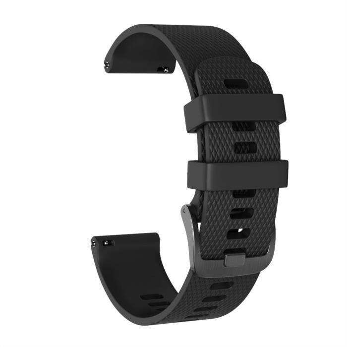 bracelet de montre vendu seul Grand bracelet de montre de bande de sport de remplacement de silicone pour Garmin Vivoactive 3