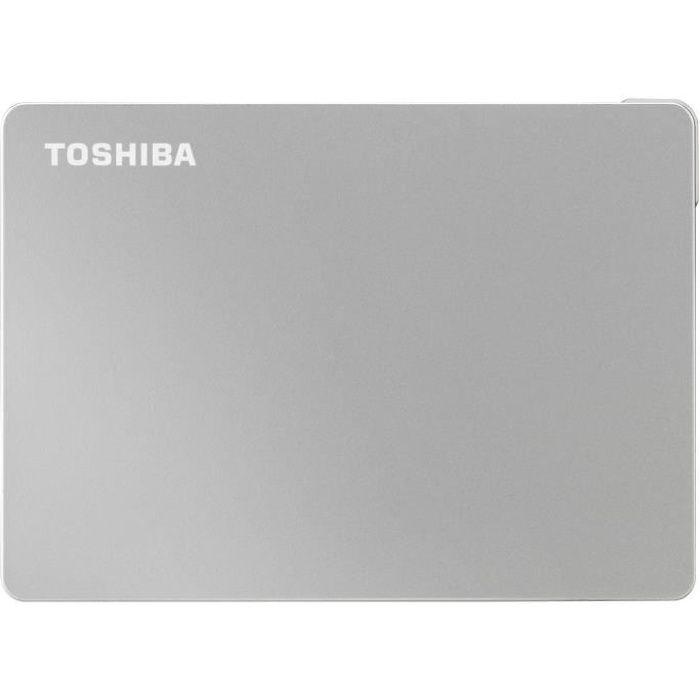 TOSHIBA - Disque dur externe - Canvio Flex - 2To - USB 3.2 / USB-C - 2,5- (HDTX120ESCAA)