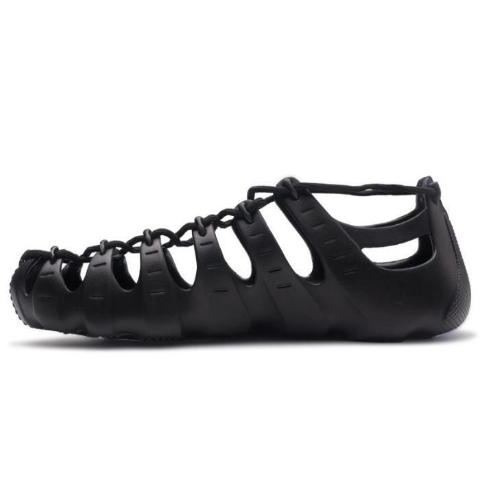 Black 11 -ONEMIX 2021 D'été Hommes Femmes Décontracté Chaussures D'eau Multifonction En Caoutchouc Semelle Sandales Homme de P