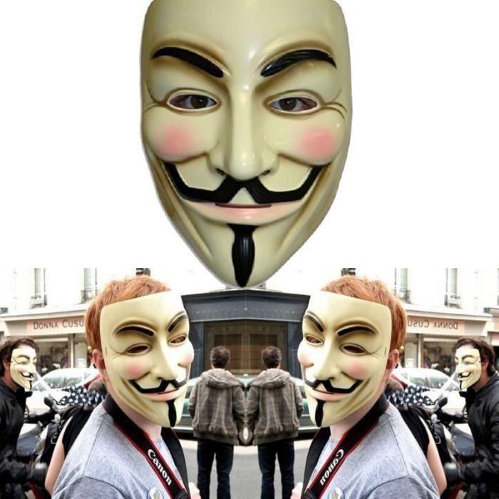 Halloween Déguisement - Masque V pour Vendetta Ma01840
