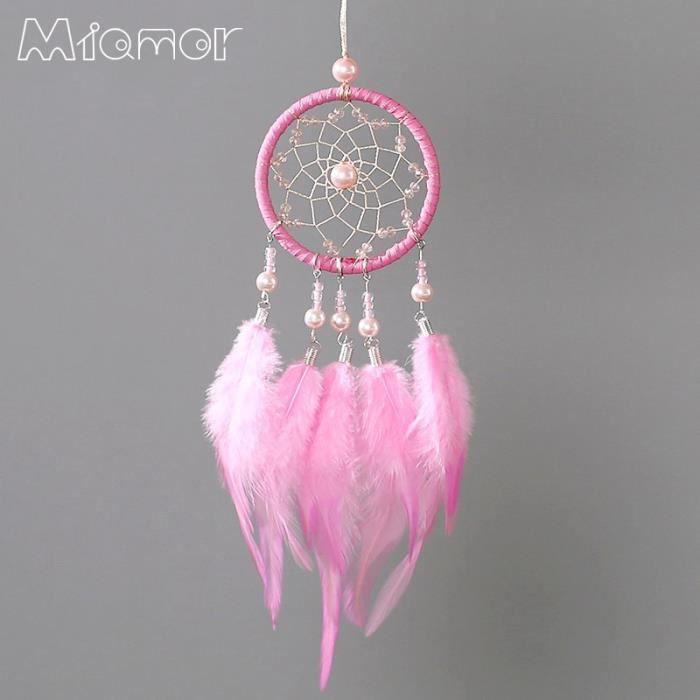 CARILLON A VENT - CARILLON EOLIEN,MIAMOR carillons rêves et éoliens rose et blanc - Type Pink