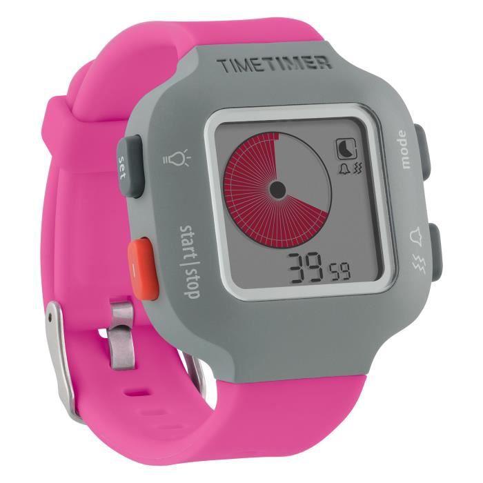 Time Timer montre Plus (Taille petite et grande), Visual Minuteur (Reproductible), horloge (analogiques et numériques en 12 ou 24
