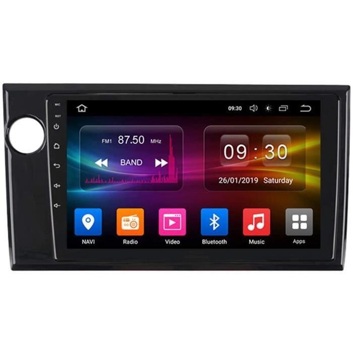 Autoradio Récepteur Multimédia Car Radio Voiture Stéréo 9 Pouces Autoradio Bluetooth pour Honda BRV 2015-2019 Main Libre avec[159]