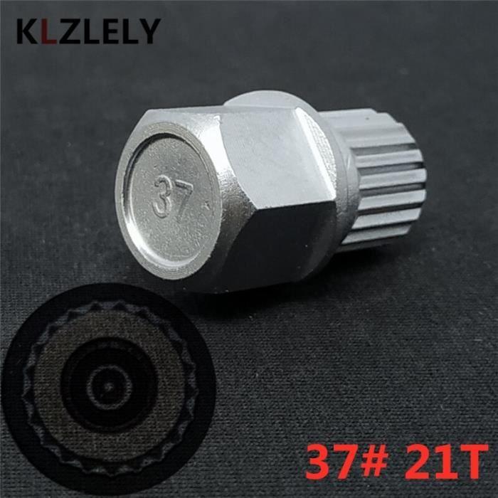 Pièces Auto,1 pièces antivol 13 dents 23 dents boulons de roue écrou de blocage clé adaptateur pour BMW 1 3 5 6 - Type 21 Teeth 37