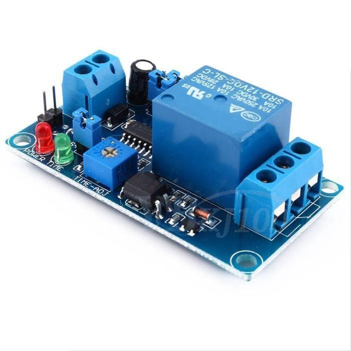 Temporisation du déclencheur 12V relais temporisateur module commutateur minuterie -OHL -XIF