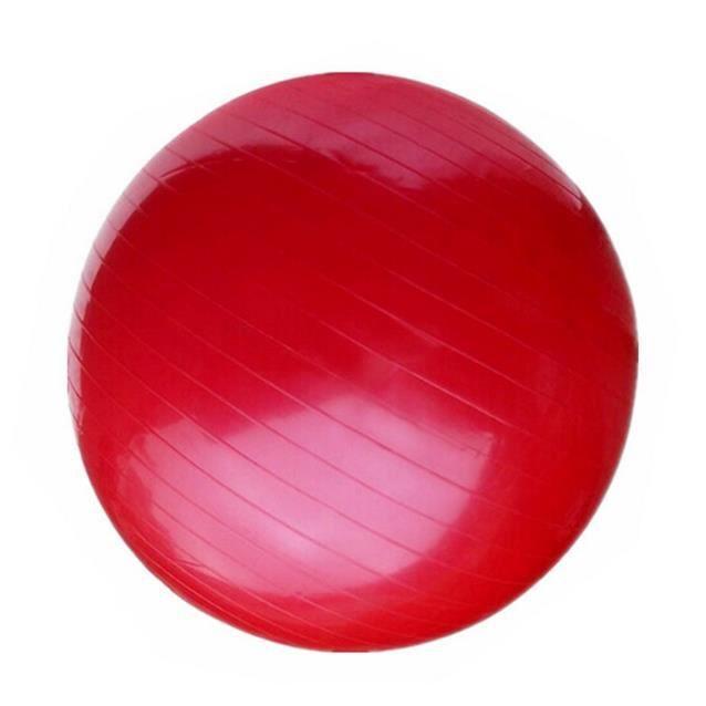 Ballon de yoga épaississement de la balle avec ballon de fitness (Rouge)