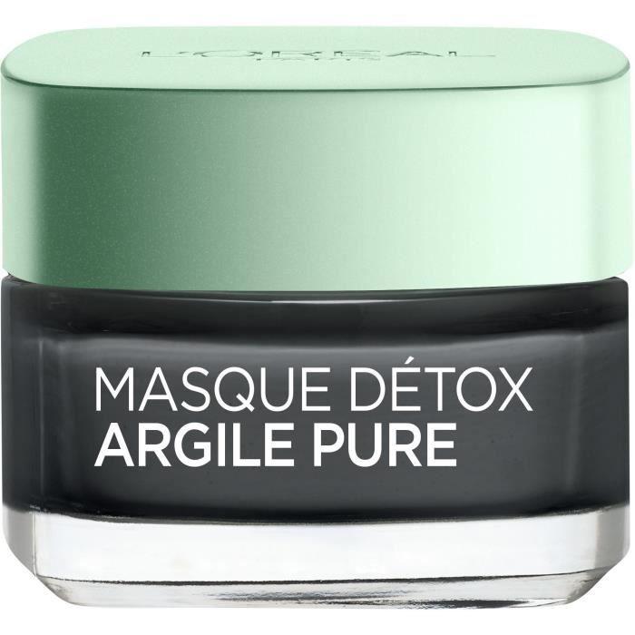 L'ORÉAL PARIS - Masque Visage Détox Argile Pure - 50 ml