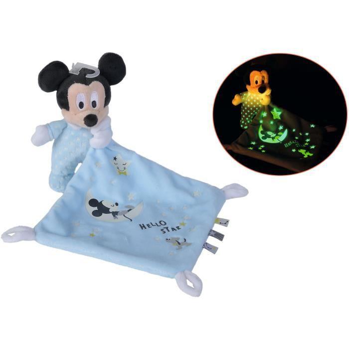 Disney - Doudou Mickey Lumineux Starry Night