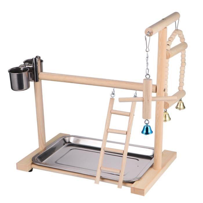 1 Pc Parrot Swing Durable Robuste Premier Haute Qualité Perroquet Stand Jouet Suspendu pour Oiseaux JOUET