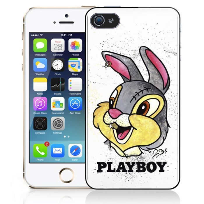 coque iphone 4 4s panpan lapin playboy