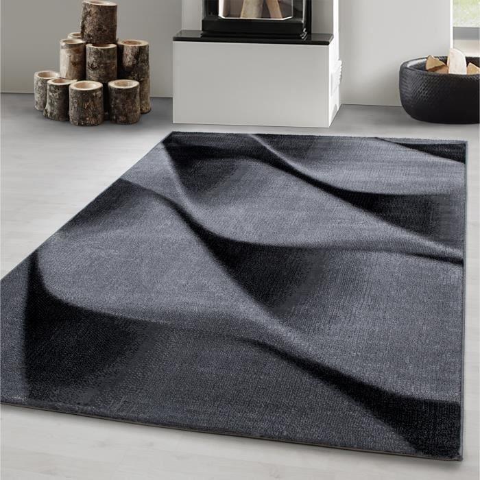 TAPIS Tapis de salon moderne design abstrait vagues modè