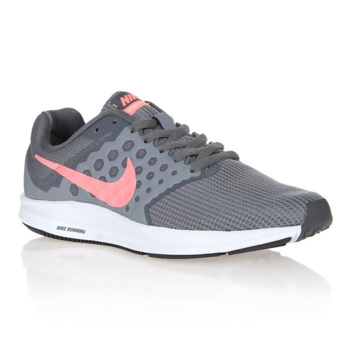 NIKE Baskets de Running Downshift Femme Gris Anthracite