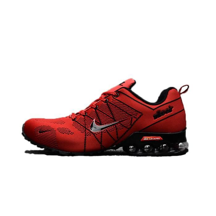 finest selection dca49 ac921 NIKE Airmax 2018 Homme Basket Running Chaussures rouge Taille 40-45