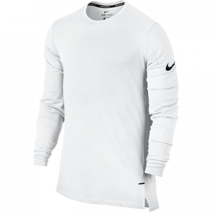 f387faed3bc44 Nike - T-shirt Manches Longues - Breathe Elite LS Basketball - 830944