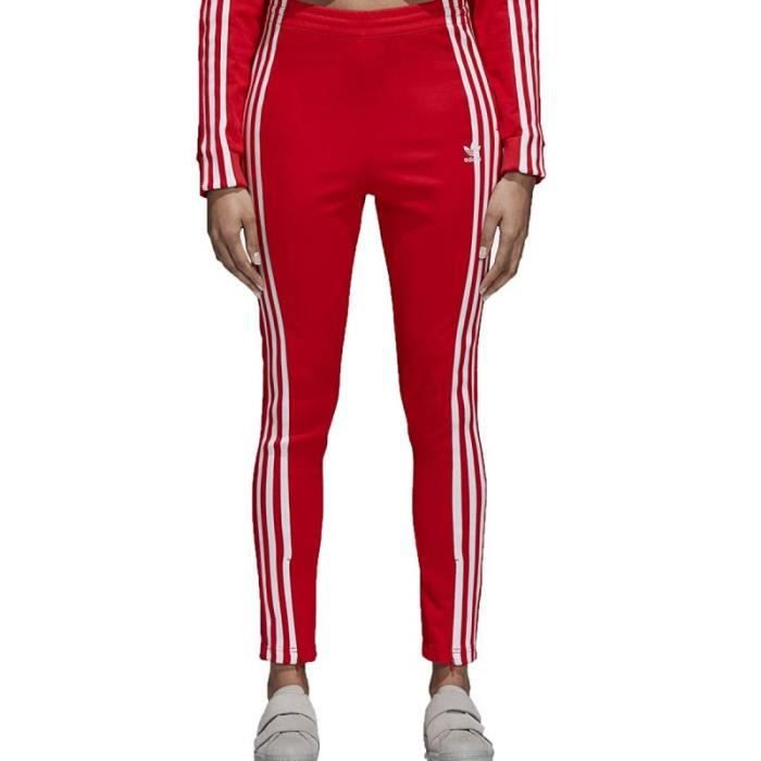 survetement homme ensemble adidas rouge
