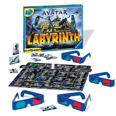 labyrinthe avatar avec lunettes 3d achat vente jeu. Black Bedroom Furniture Sets. Home Design Ideas