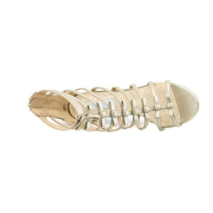 Betsey Johnson Tie Synthétique Sandales Gladiateur